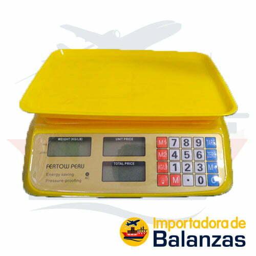 Balanza Digital Comercial Fertow Peru AC de 30 Kilos