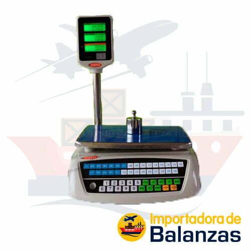 Balanza Digital Comercial Guersa con Torre de 30 Kilos