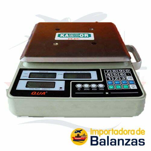 Balanza Digital Comercial Kambor QUA de 60 Kilos