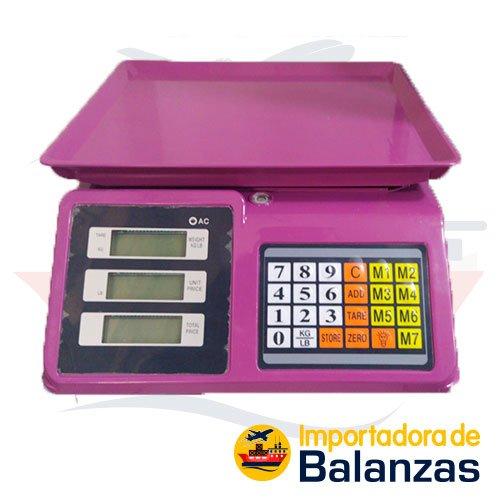 Balanza Digital Comercial Patrick's ACS30 de 30 Kilos