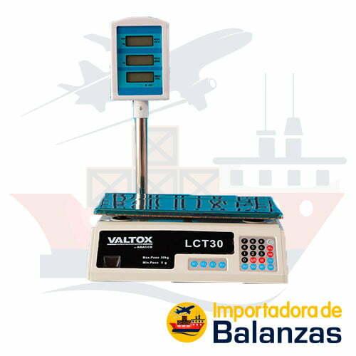 Balanza Digital Comercial Valtox LCT-30 de 30 Kilos