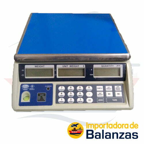 Balanza Digital Contadora Excell ACH3 de 30 kilos