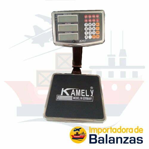 Balanza de Plataforma Kamely de 60 Kilos