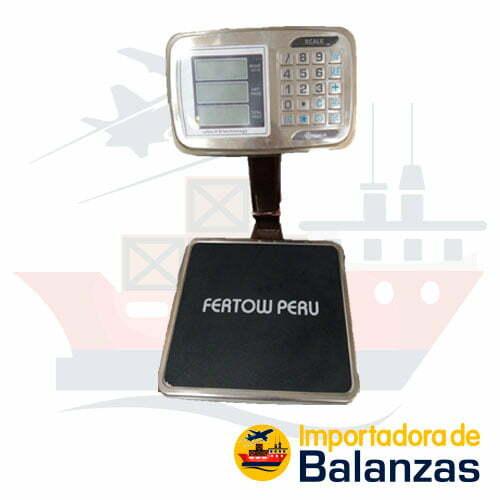 Balanza de Plataforma Precisur Scale de 60 Kilos