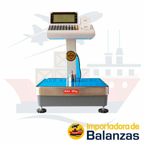 Balanza Etiquetadora T-Scale PPP de 60 Kilos