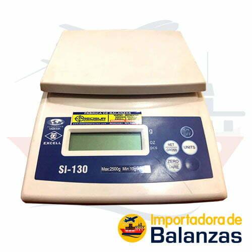 Balanza Gramera Excell SI-130 de 2500 Gramos